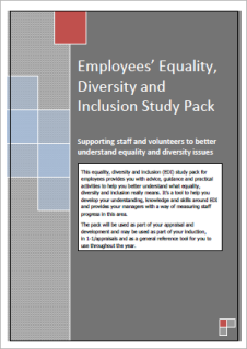 Equality, Diversity and Inclusion Study Pack for Employees