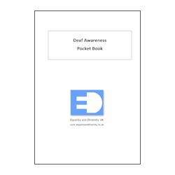 Deaf Awareness Pocket Book