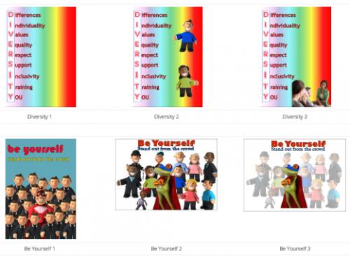 Posters - Multicolour Set