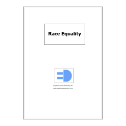 Race Equality Pocket Book